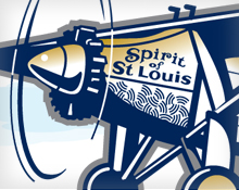 Spirit of Saint Louis Illustration